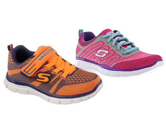 skechers kids running shoes