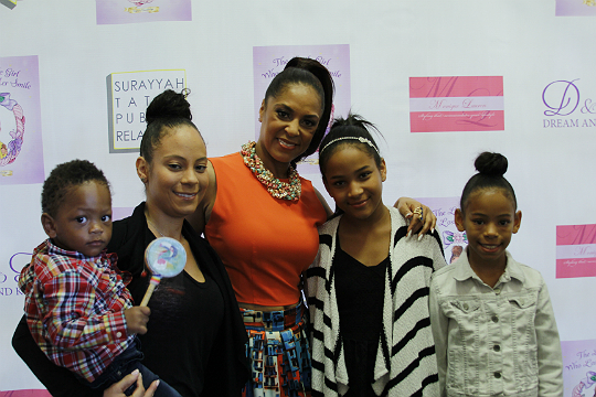 EXCLUSIVE PHOTOS: CELEB MOMS SUPPORT TIFFNEY CAMBRIDGE AT HER BOOK LAUNCH