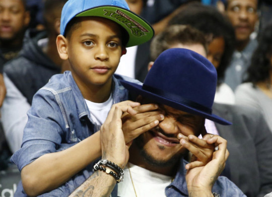 CARMELO ANTHONY AND SO...