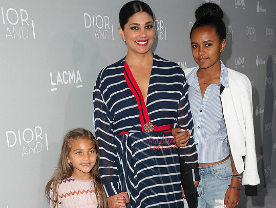 RACHEL ROY AND DAUGHTERS ATTEND 'DIOR AN I' SCREENING