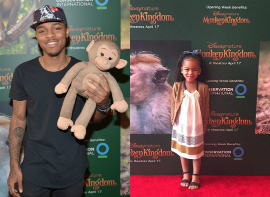 Bow Wow Takes His Daughter To The
