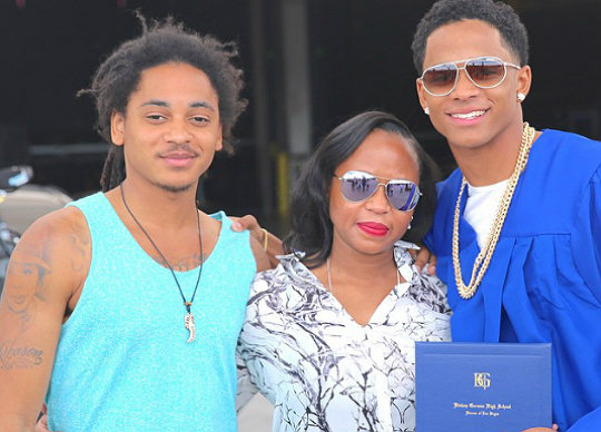 CORDELL BROADUS IS OFFICIALLY A HIGH SCHOOL GRADUATE