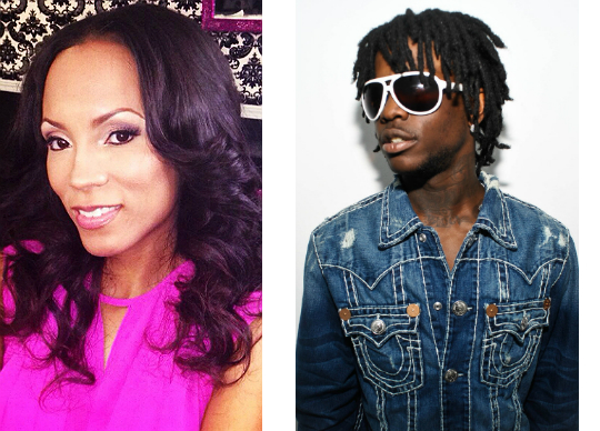 CUSTODY WOES: TAMIKA FULLER AND CHIEF KEEF