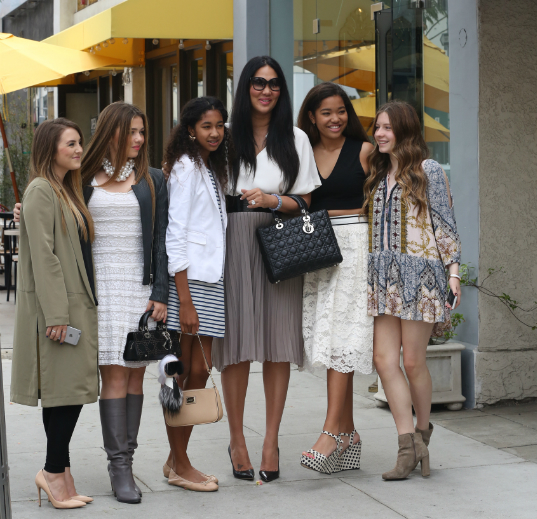 KIMORA LEE SIMMONS CELEBRATES DAUGHTER'S GRADUATION