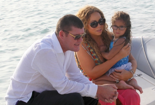 PHOTOS: MARIAH CAREY AND KIDS LIVE IT UP IN IBIZA