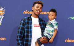 Nick Young and son Nick Young Jr.