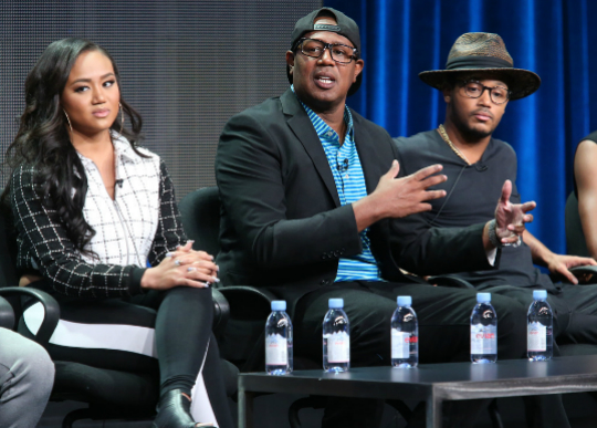 MASTER P AND KIDS PROMOTE UPCOMING REALITY SERIES AT TCA TOUR