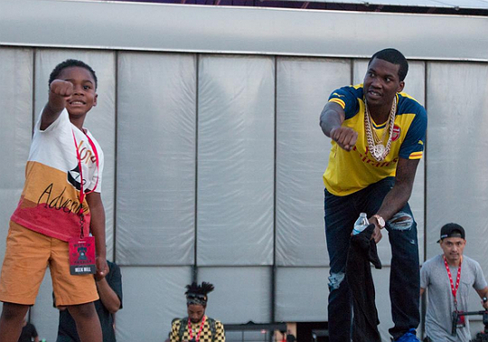 MEEK MILL'S SON IS THE LATEST CELEBRITY KID TO DO THE 'NAE NAE'