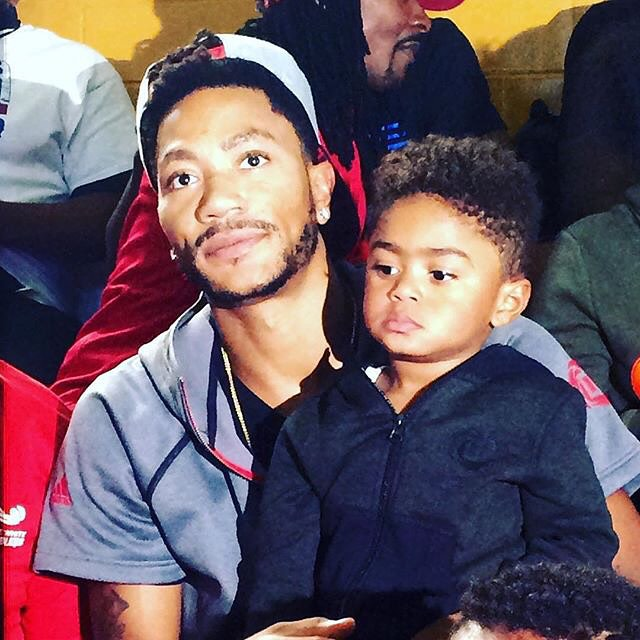 DERRICK ROSE: 'I'M WORKING FOR MY SON'