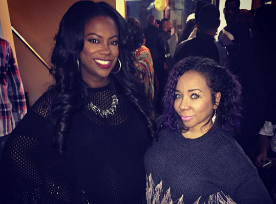 DID TAMEKA 'TINY' HARRIS LET IT SLIP THAT SHE IS EXPECTING?