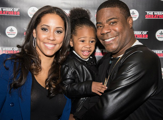 Tracy Morgan And Family Attend Week Of Greatness Launch