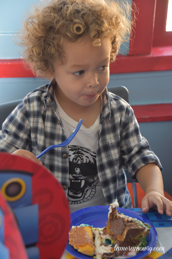 Aden Housley Celebrates His Third Birthday