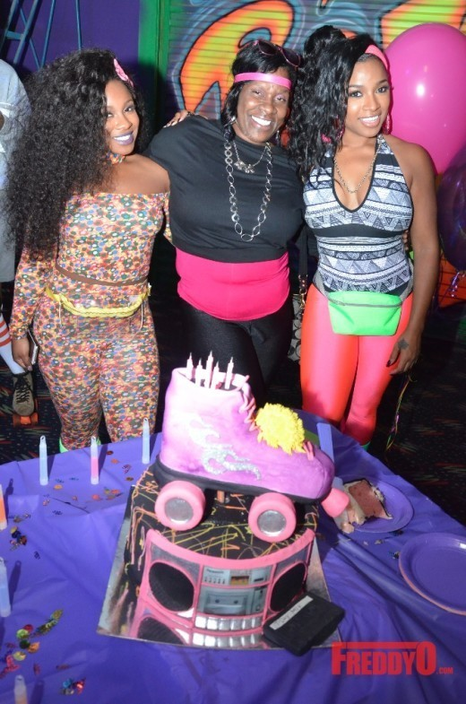 Toya Wright Celebrates Birthday With Daughter Mom And Friends
