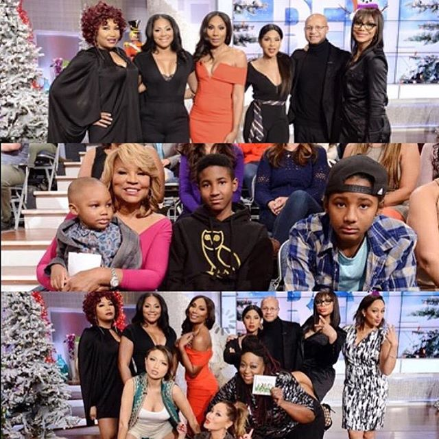 TONI BRAXTON AND FAMILY APPEAR ON 'THE REAL