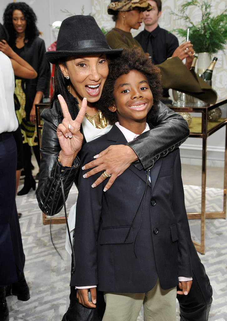 Kimora Lee Simmons And Sons Open New Boutique