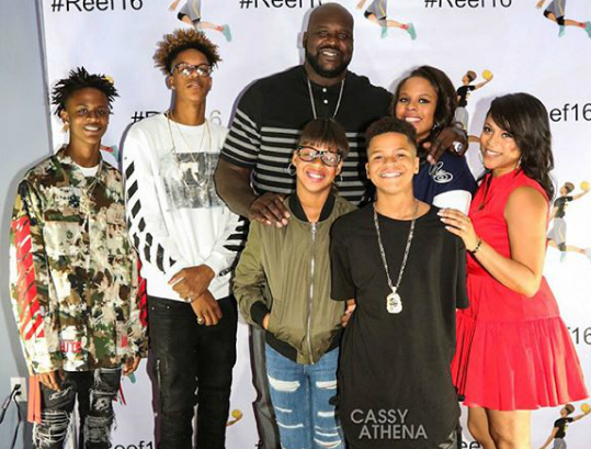 shaquille oneal gives greenlight for family reality series