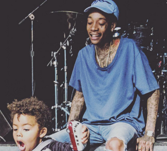 WIZ KHALIFA 'LOVES TO SEE HIS SON GROW'