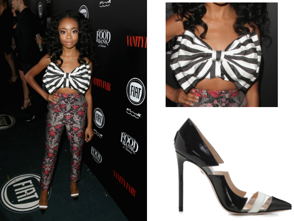 Get The Look Skai Jackson Attends Young Hollywood Event