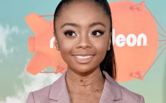 INGLEWOOD, CA - MARCH 12:  Actress Skai Jackson attends Nickelodeon's 2016 Kids' Choice Awards at The Forum on March 12, 2016 in Inglewood, California.  (Photo by Alberto E. Rodriguez/Getty Images)