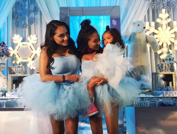 Royalty Brown Enjoys Frozen Themed Birthday Party Hosted