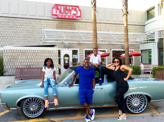 How Kevin Hart And Some Of Your Favorite Celebs Celebrated Memorial Day