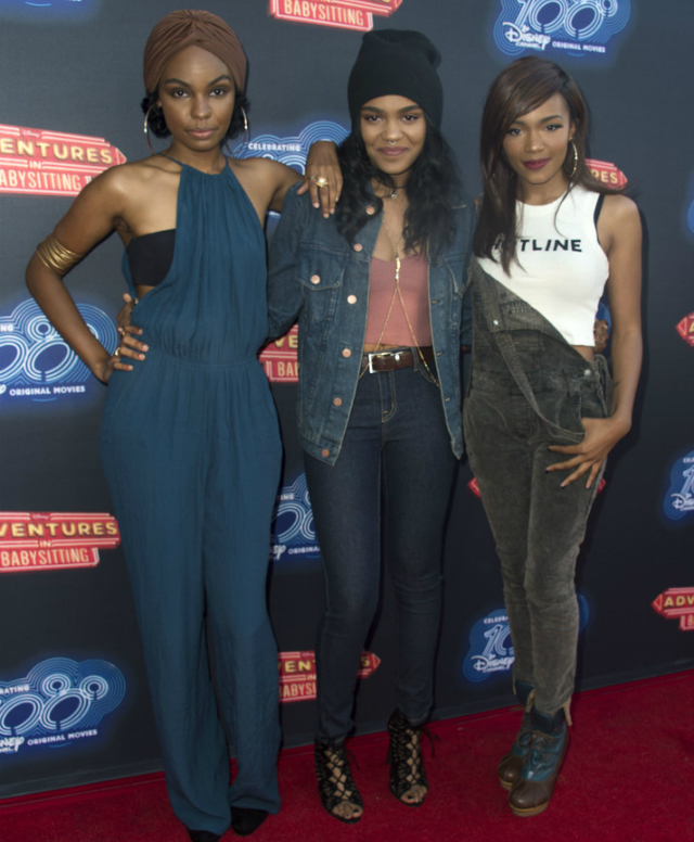 The Mcclain Sisters Attend Adventures In Babysitting Event