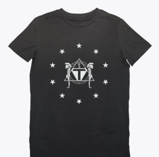 2-Federation- Mens Tee-BLK