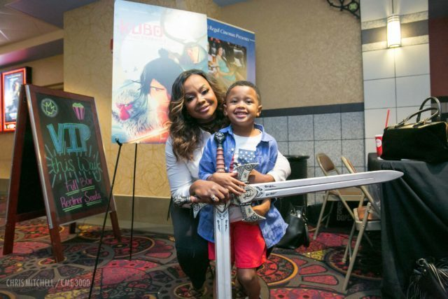 Phaedra Parks and son Ayden (2)