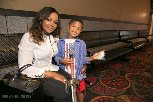 Phaedra Parks and son Ayden (6)