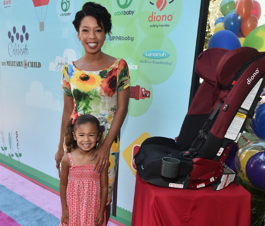 ANGEL PARKER AND DAUGHTER ATTEND 5TH RED CARPET SAFETY AWARENESS EVENT