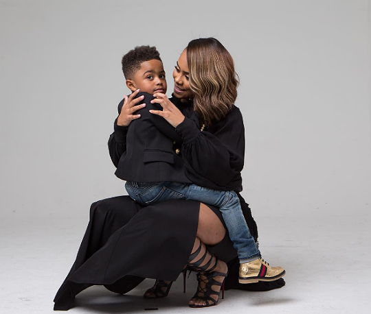 daa238857b7 The son of Mieka Reese and Derrick Rose participated in a recent photo  shoot that was simply adorable.
