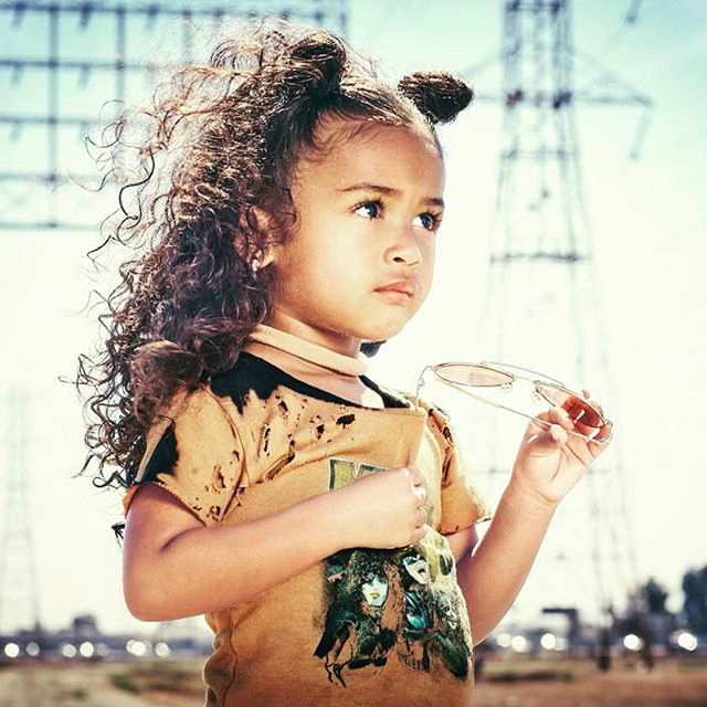 ROYALTY BROWN MODELS FOR CHILD'S PLAY CLOTHING