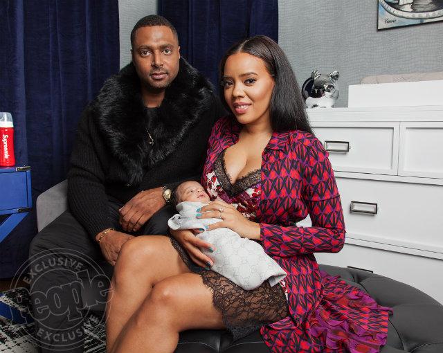 Angela Simmons Debuts Son Sutton Joseph