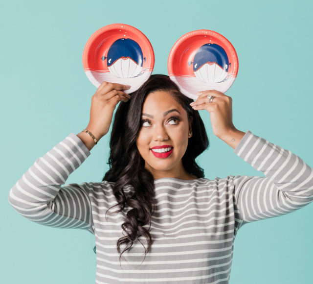 Cheeky, the modern disposable and porcelain tableware company, and Ayesha Curry announce the launch of Cheeky Kids, a brand dedicated to kids and baby mealtime products in partnership with No Kid Hungry. (PRNewsFoto/Cheeky)