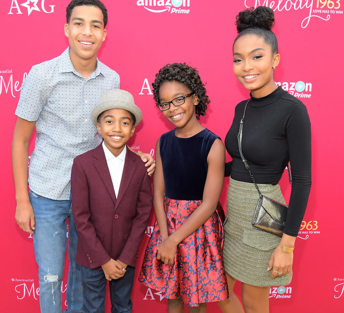 BLACK-ISH CAST AND OTHER HOLLYWOOD STARS TURN OUT IN SUPPORT OF MARASI MARTIN