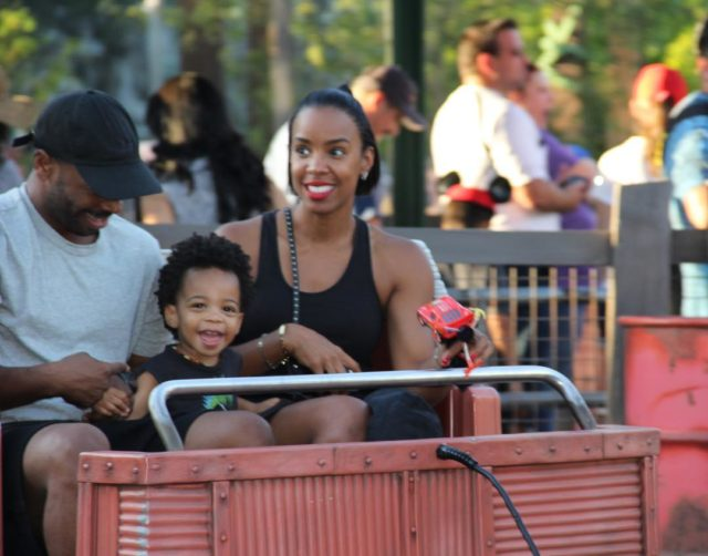 KELLY ROWLAND AND THE FAMILY VISIT THE HAPPIEST PLACE ON EARTH