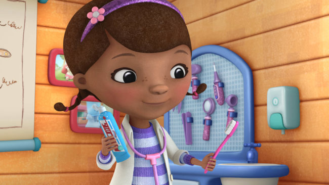 "DOC MCSTUFFINS - ""Bronto Breath"" - (DISNEY JUNIOR) DOC"