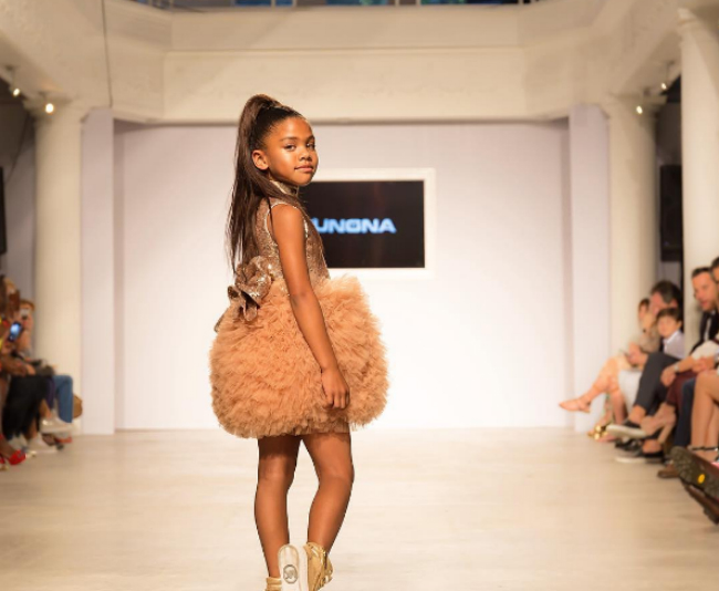 CALI DREAM AND SEVERAL OTHER KIDS TAKE ON MIAMI FASHION WEEK
