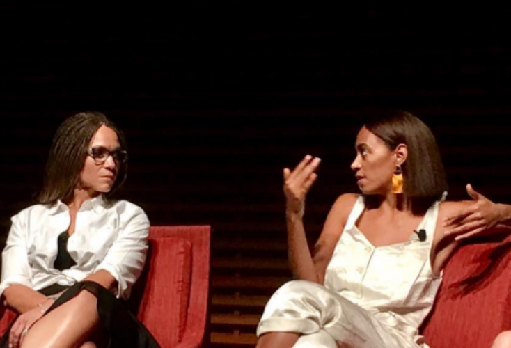 SOLANGE KNOWLES TALKS 'A SEAT AT THE TABLE,' MOTHERHOOD AND MORE AT STANFORD UNIVERSITY EVENT
