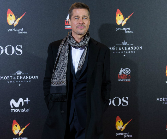 BRAD PITT SPENT THANKSGIVING SANS FAMILY: 'ANGIE WOULDN'T LET HIM SEE THE KIDS'