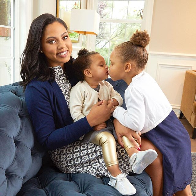 AYESHA CURRY SERVES UP A BATCH OF HOLIDAY BABY MOCASSINS