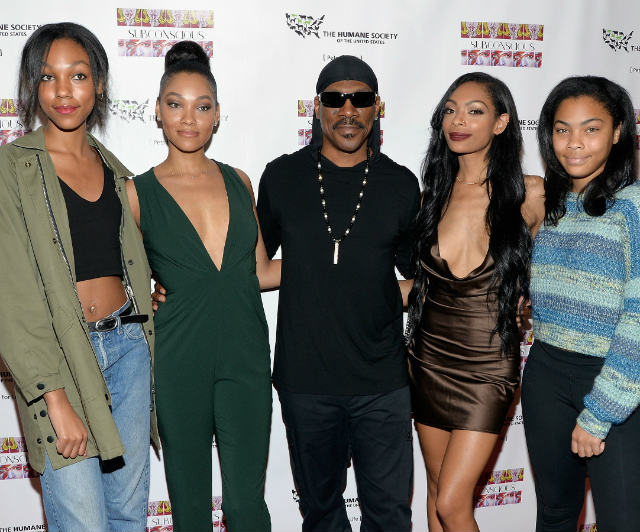 EDDIE MURPHY ON HIS KIDS: 'I REALLY GOT LUCKY'