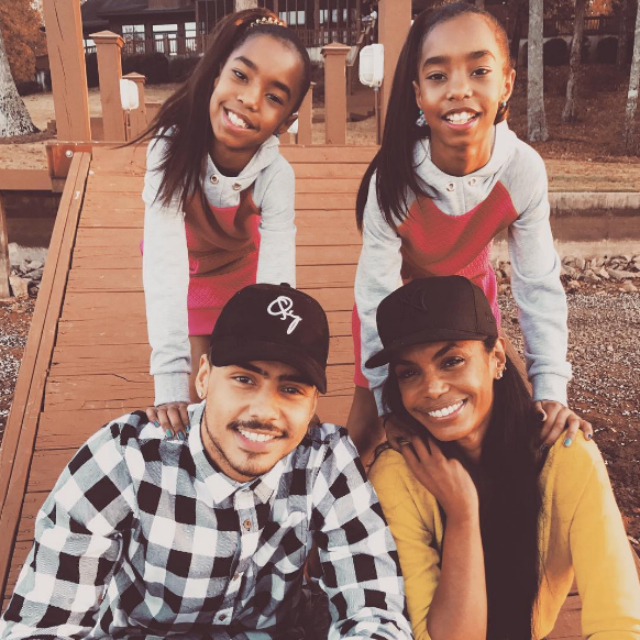 The Combs twins spent the day with mom, Kim Porter.