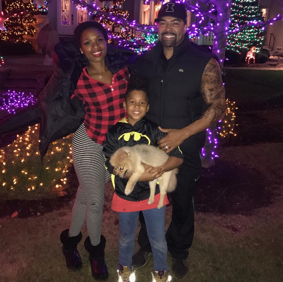 Jennifer Hudson and the family started preparing for Christmas a bit early.