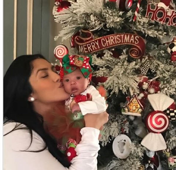 Vanessa Bryant and daughter Bianka Bella Bryant.