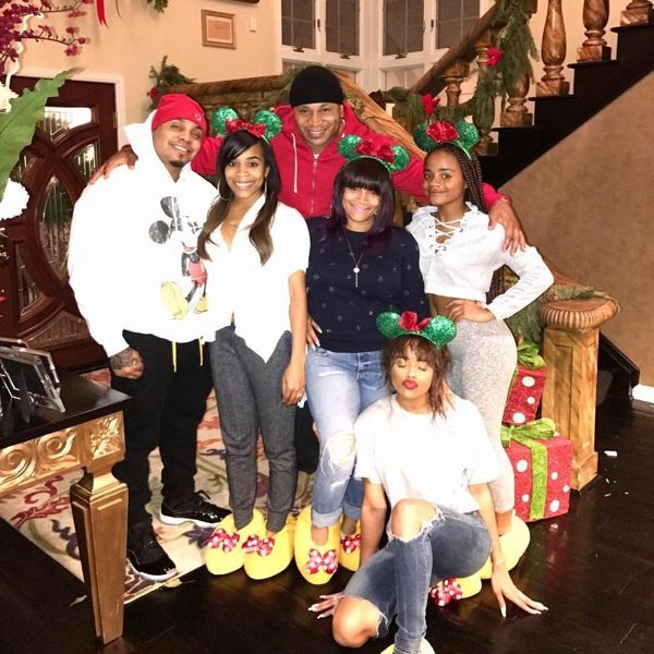 lol Cool J and his lovely family.
