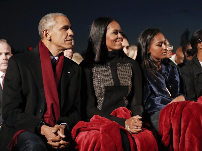 A NATIONAL TREE LIGHTING CEREMONY TO REMEMBER WITH THE OBAMAS