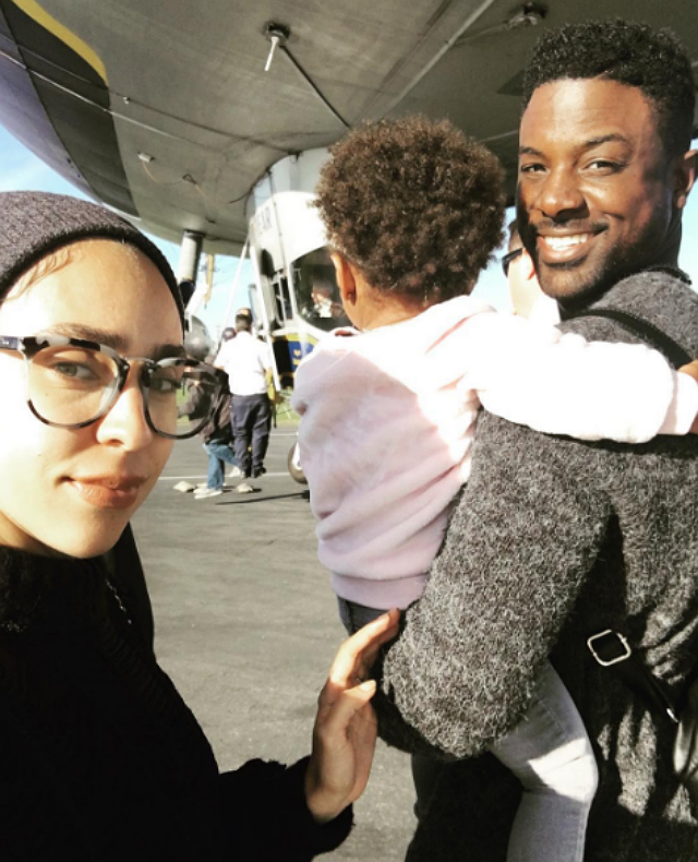 LANCE GROSS AND FAMILY TAKE A RIDE ON THE GOOD YEAR BLIMP