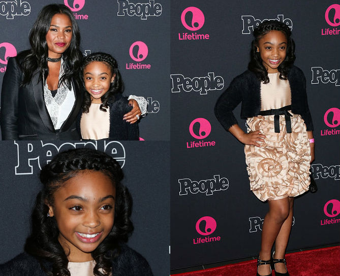 SANAI VICTORIA ATTENDS 'BEACHES' RED CARPET PREMIERE