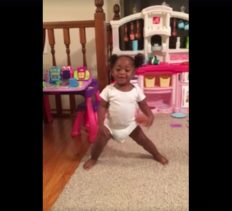Toddler Dancing